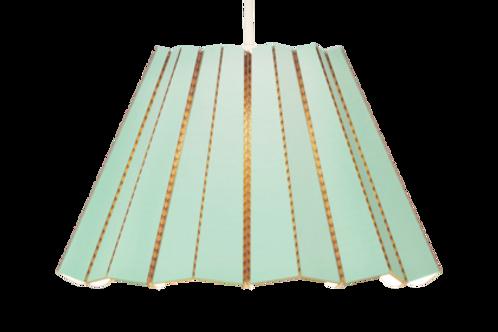 polar green (mint) cardboard pendant light Scandinavian design