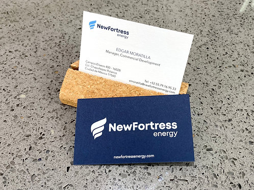 NewFortress Business Cards