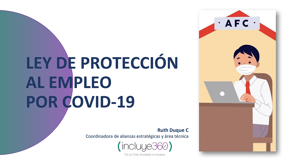 Ley de protección al empleo por covid 19