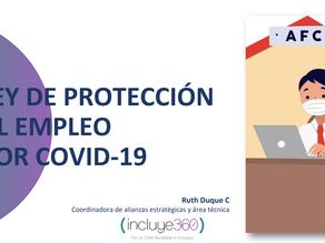 [LECTURA FÁCIL] LEY DE PROTECCIÓN AL EMPLEO POR COVID-19