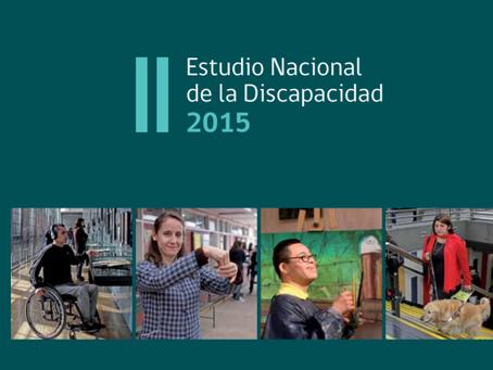 Resultados II Estudio Nacional de la Discapacidad (SENADIS)