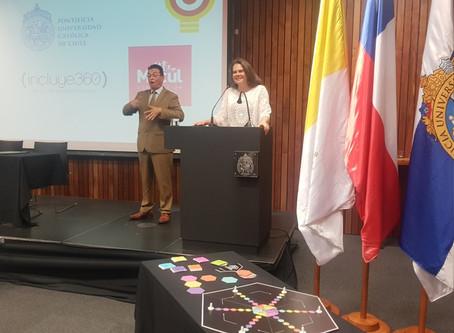 Niños de Macul serán beneficiados con tecnología inclusiva desarrollada por académicos de la UC.