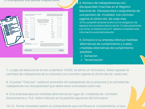 Cumplimiento de la Ley 21.015 ¿Cómo informar en la Dirección del trabajo?