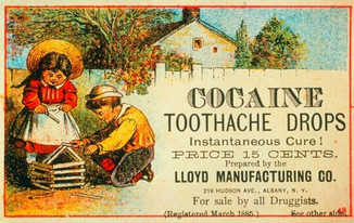 Vintage product adverts