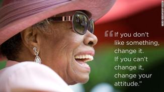 Maya Angelou - an amazing woman