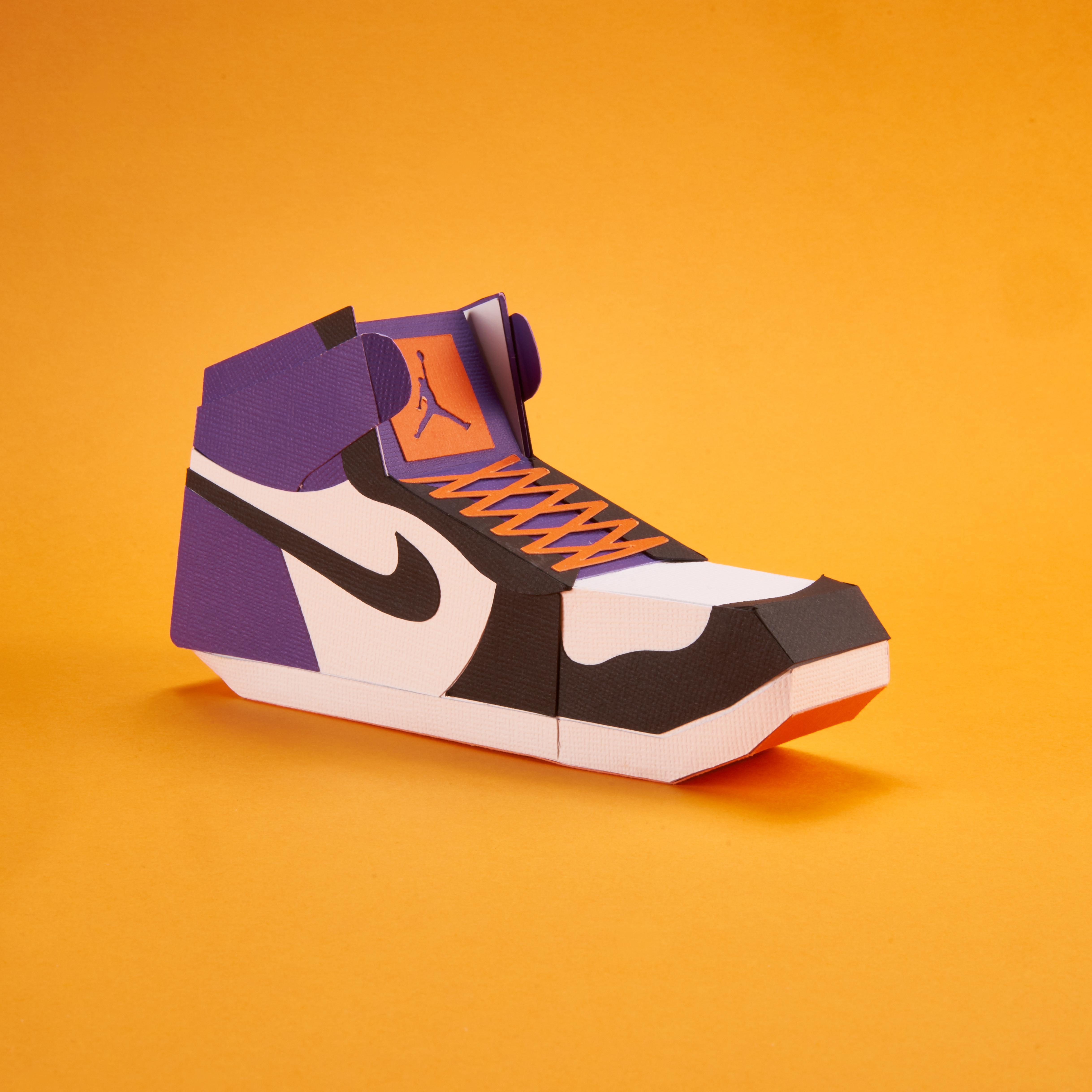 Paper Sneaker AJ1 20