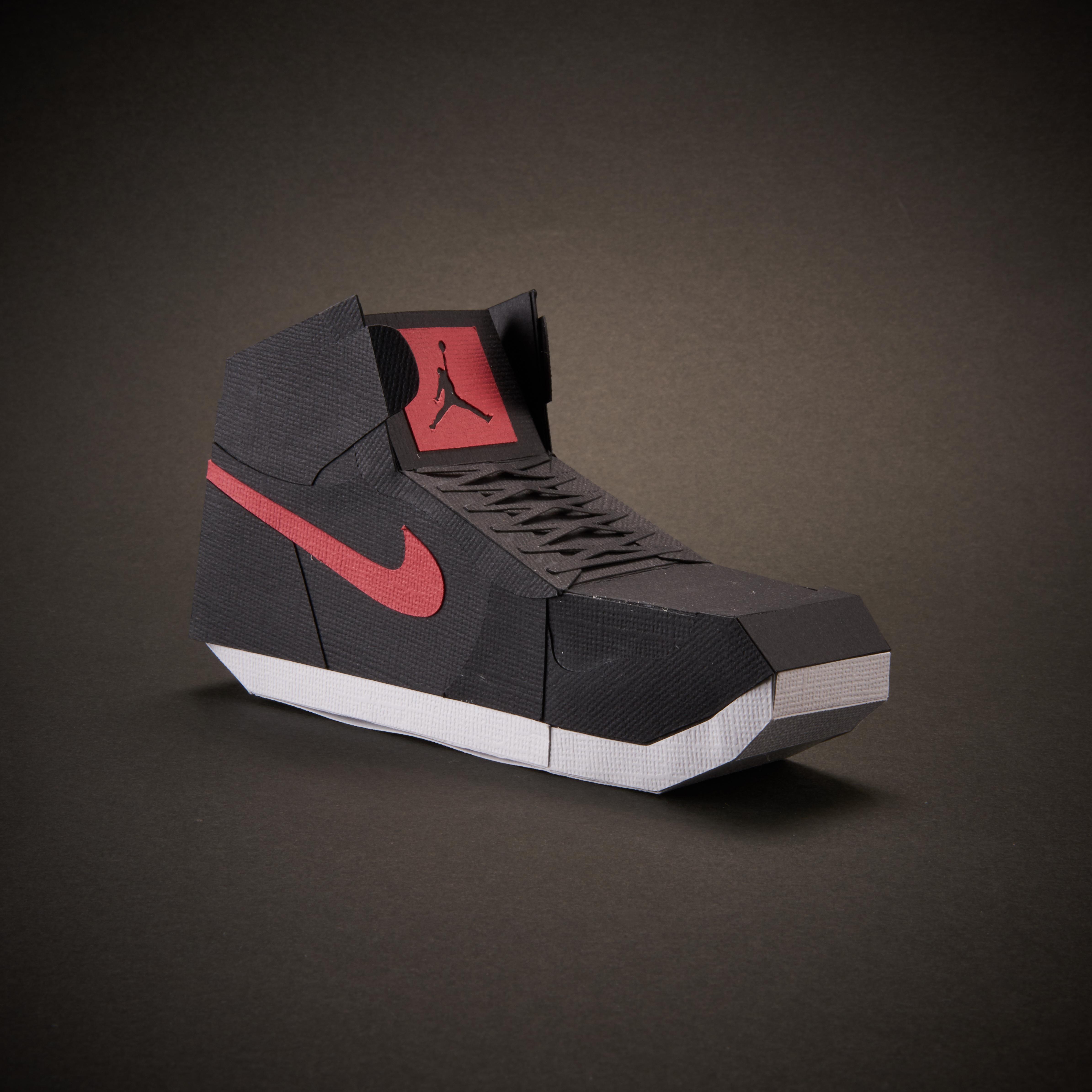 Paper Sneaker AJ1 5