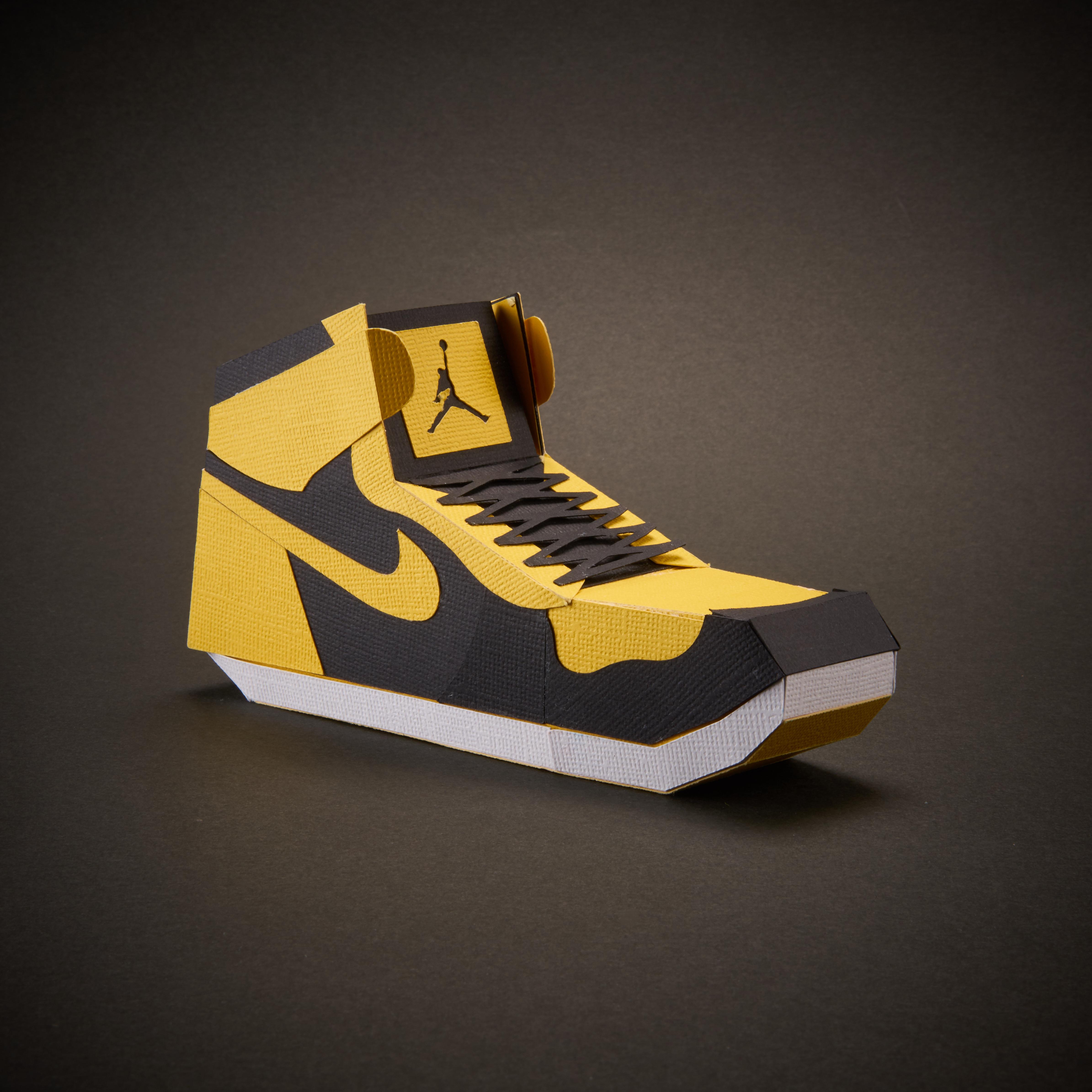 Paper Sneaker AJ1 6