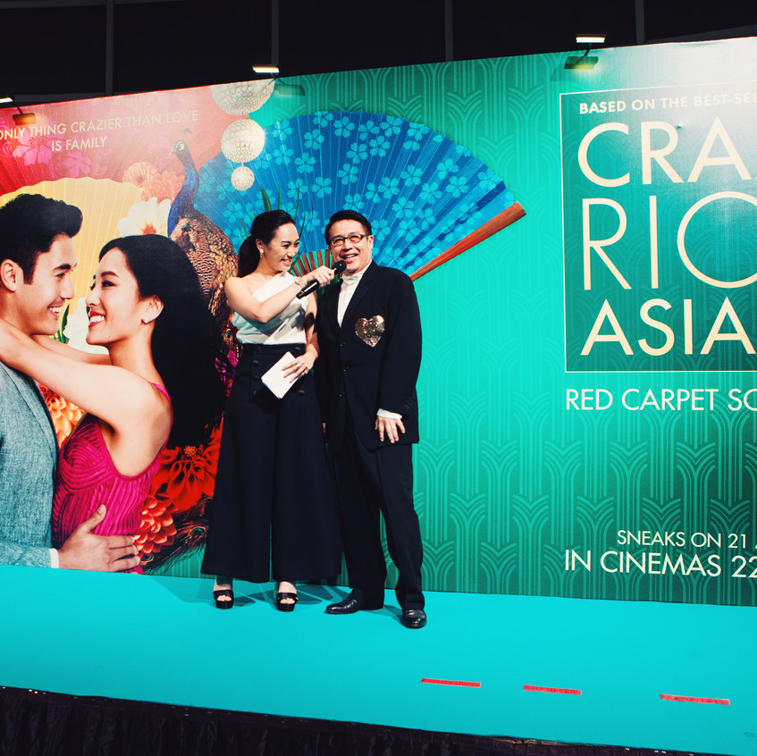 Crazy Rich Asians Movie Premiere