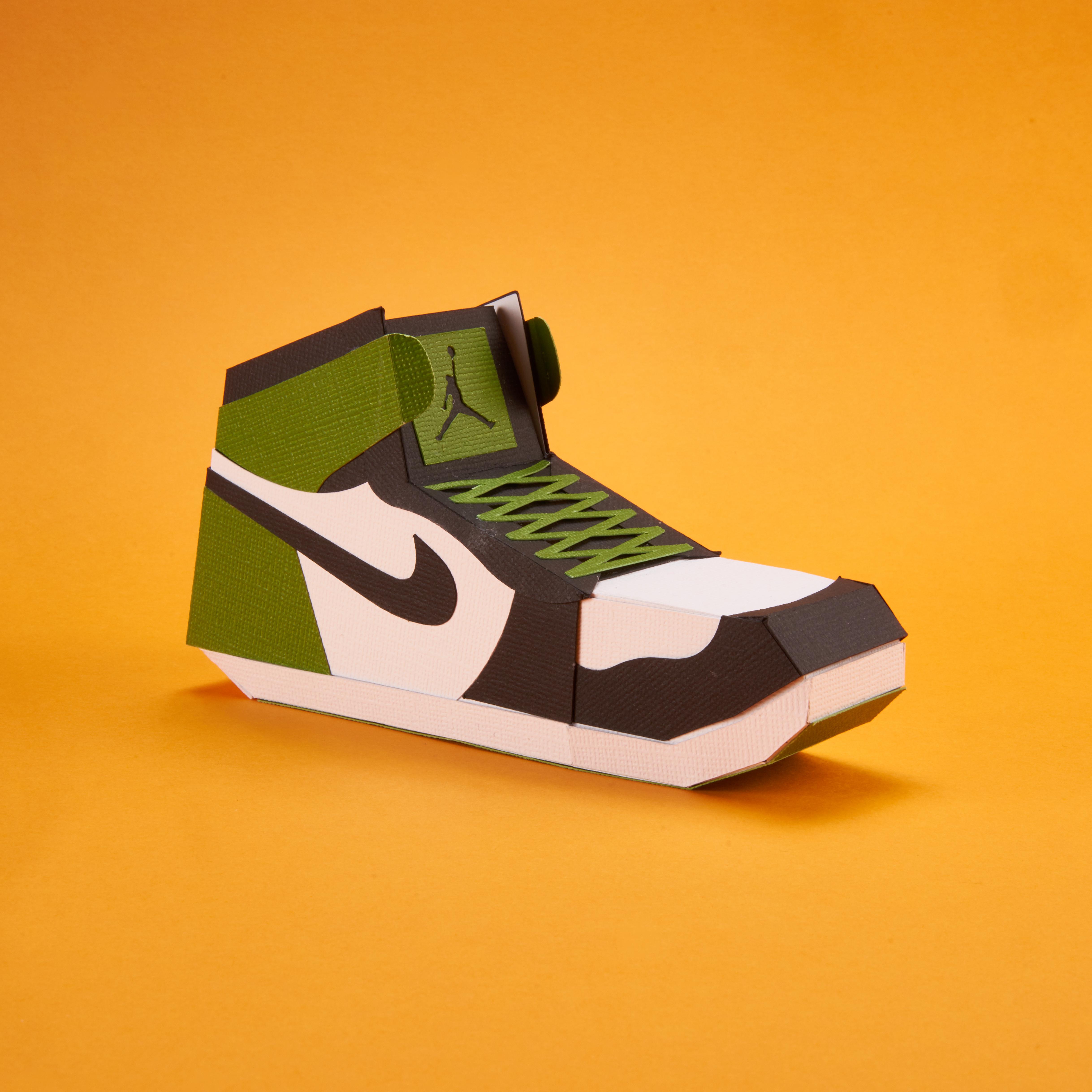 Paper Sneaker AJ1 76