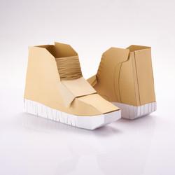 Paper Sneaker yeezy boost 750