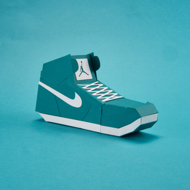 Paper Sneaker AJ1 27