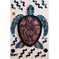 Sea Turtle Artwork Natalie Wong KFC