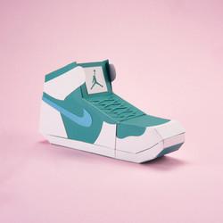 Paper Sneaker AJ1 64