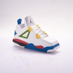 Paper sneaker AJ4
