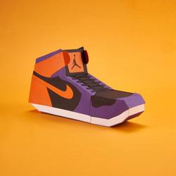 Paper Sneaker AJ1 21