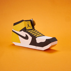 Paper Sneaker AJ1 77