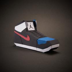 Paper Sneaker AJ1 8