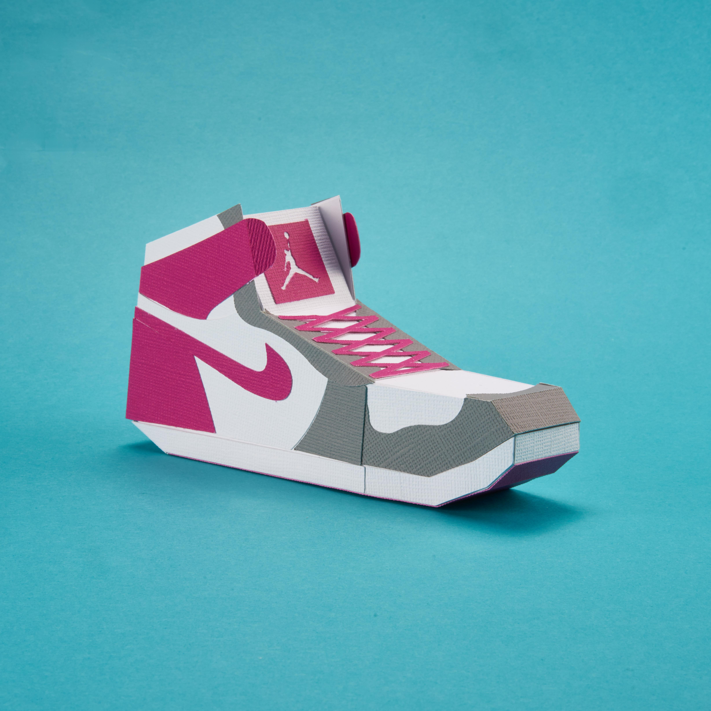 Paper Sneaker AJ1 26
