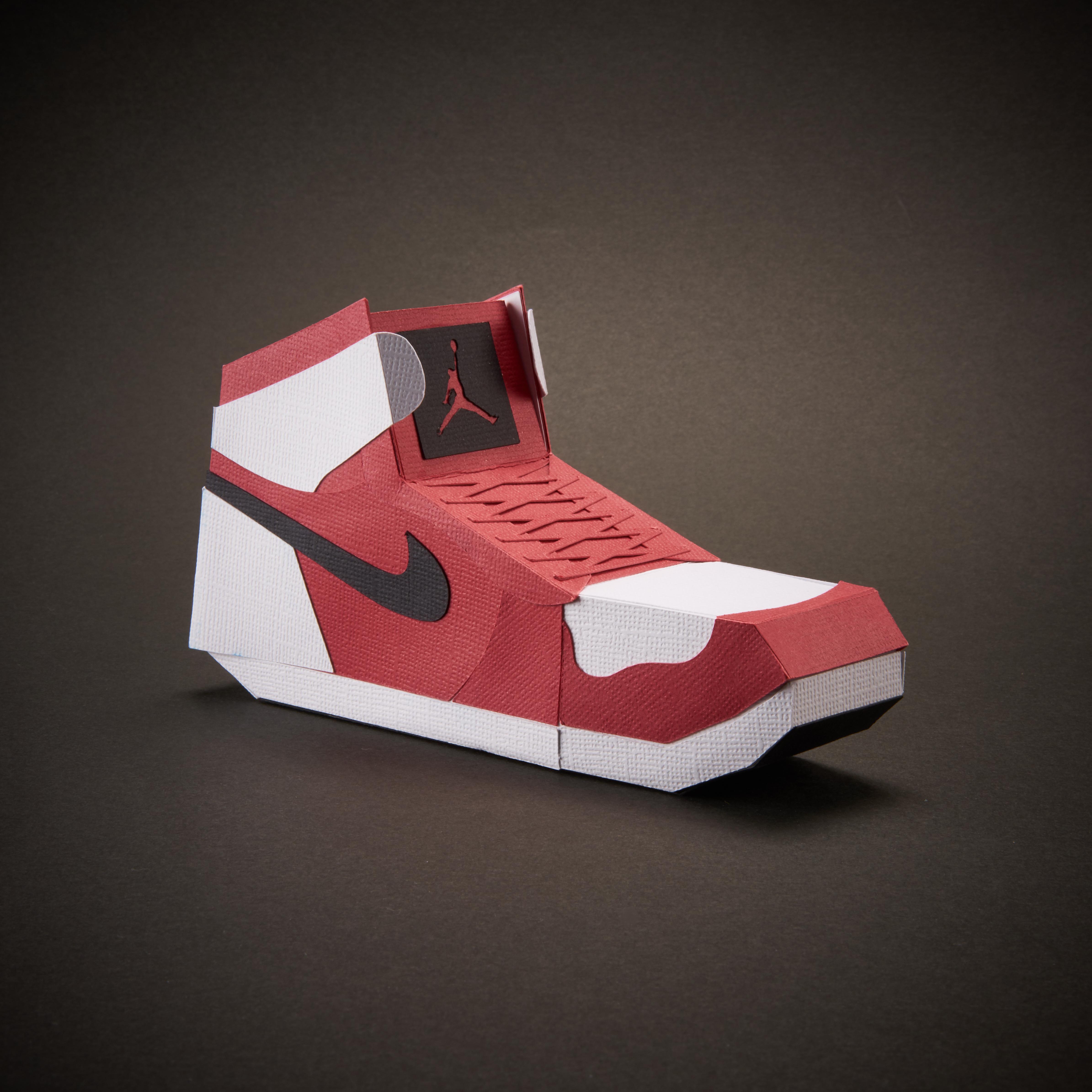 Paper Sneaker AJ1 2