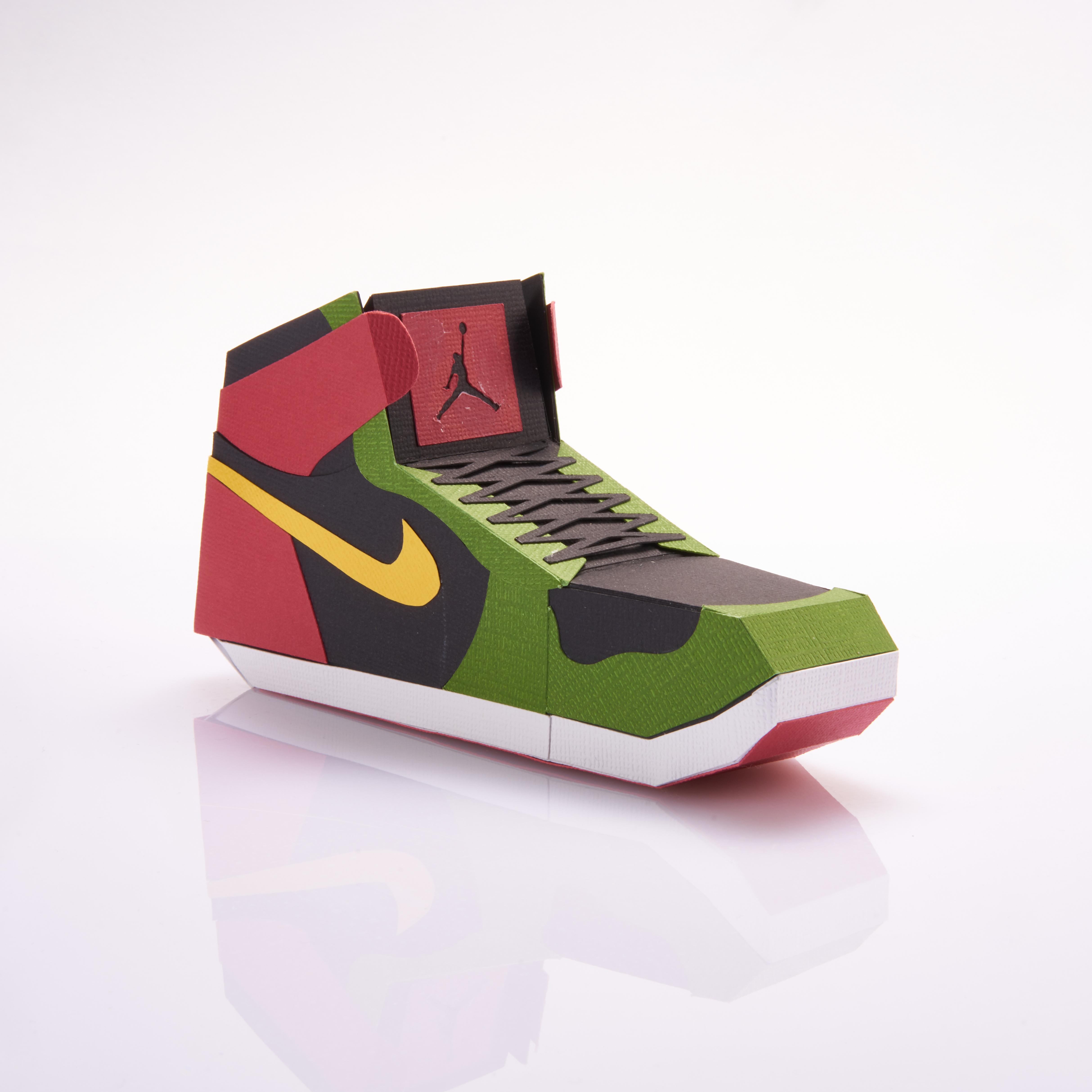 Paper Sneaker AJ1 18