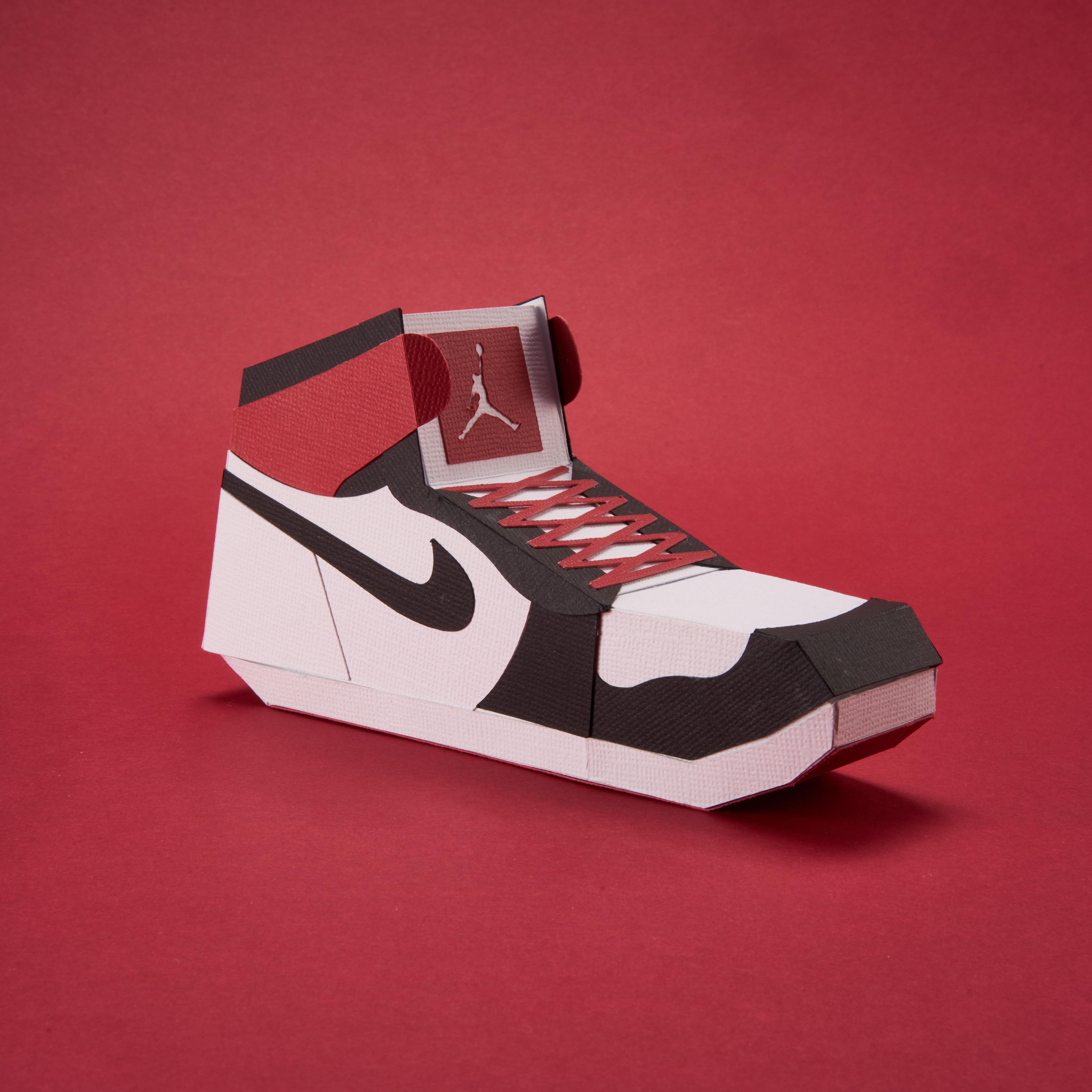 Paper Sneaker AJ1 38