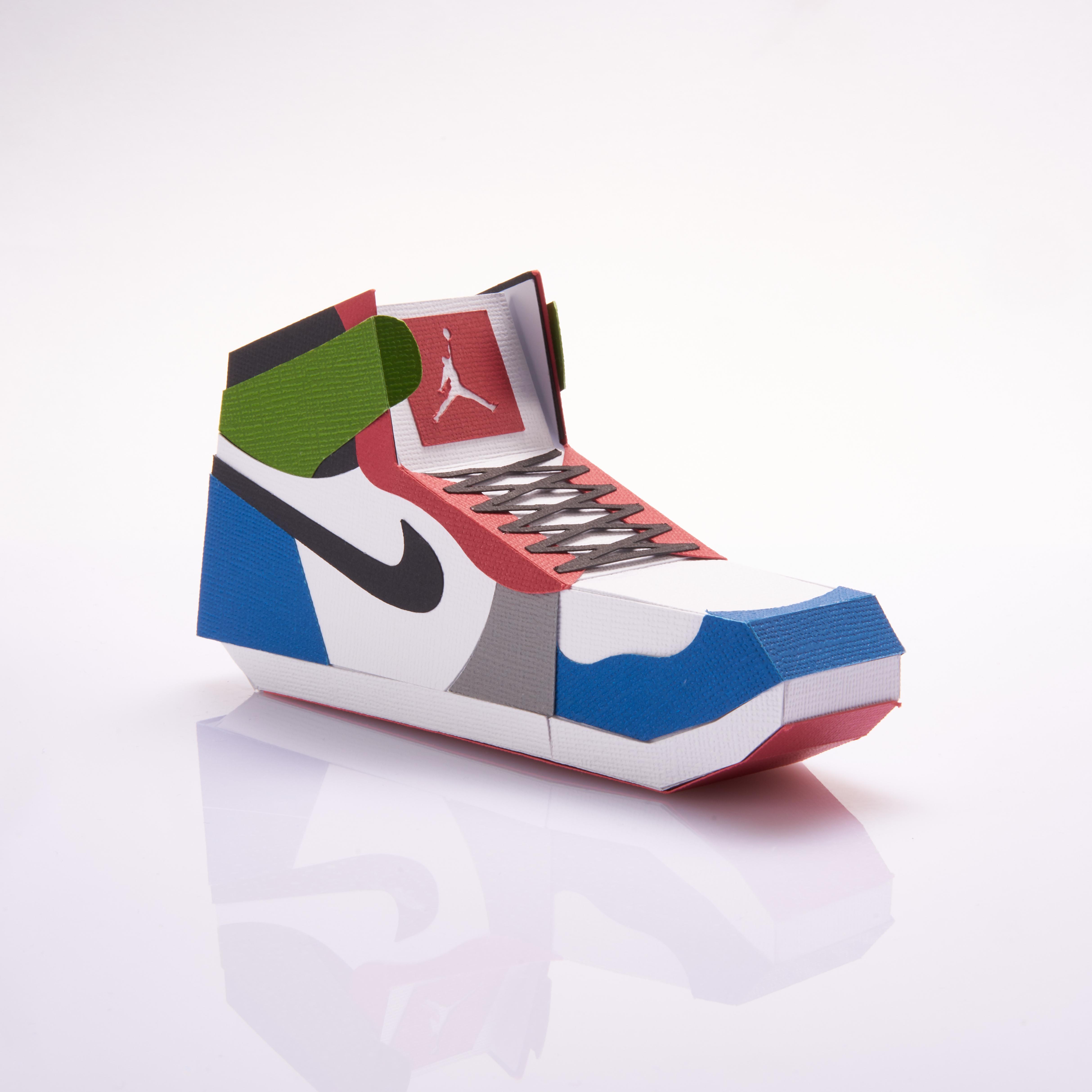 Paper Sneaker AJ1 17