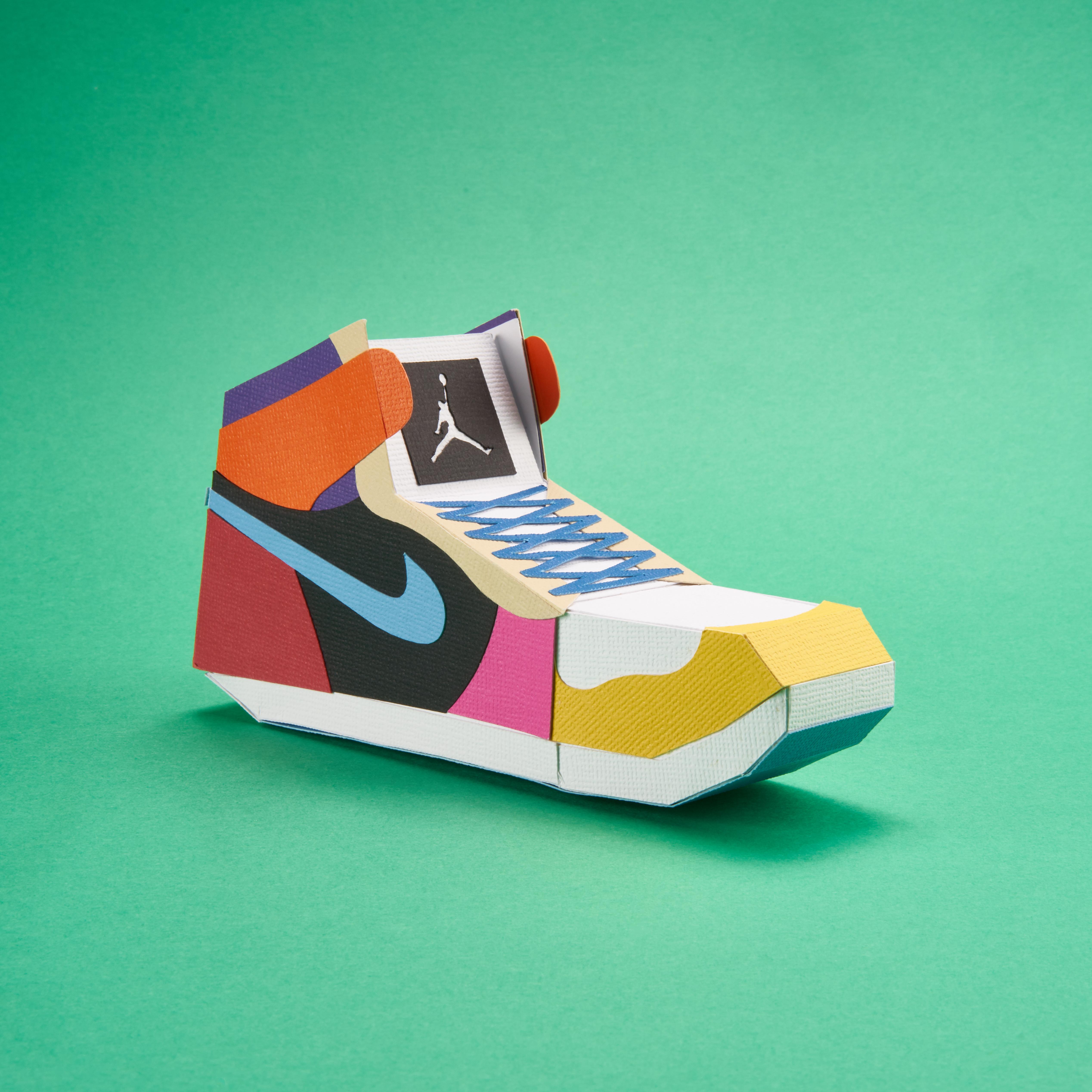 Paper Sneaker AJ1 11