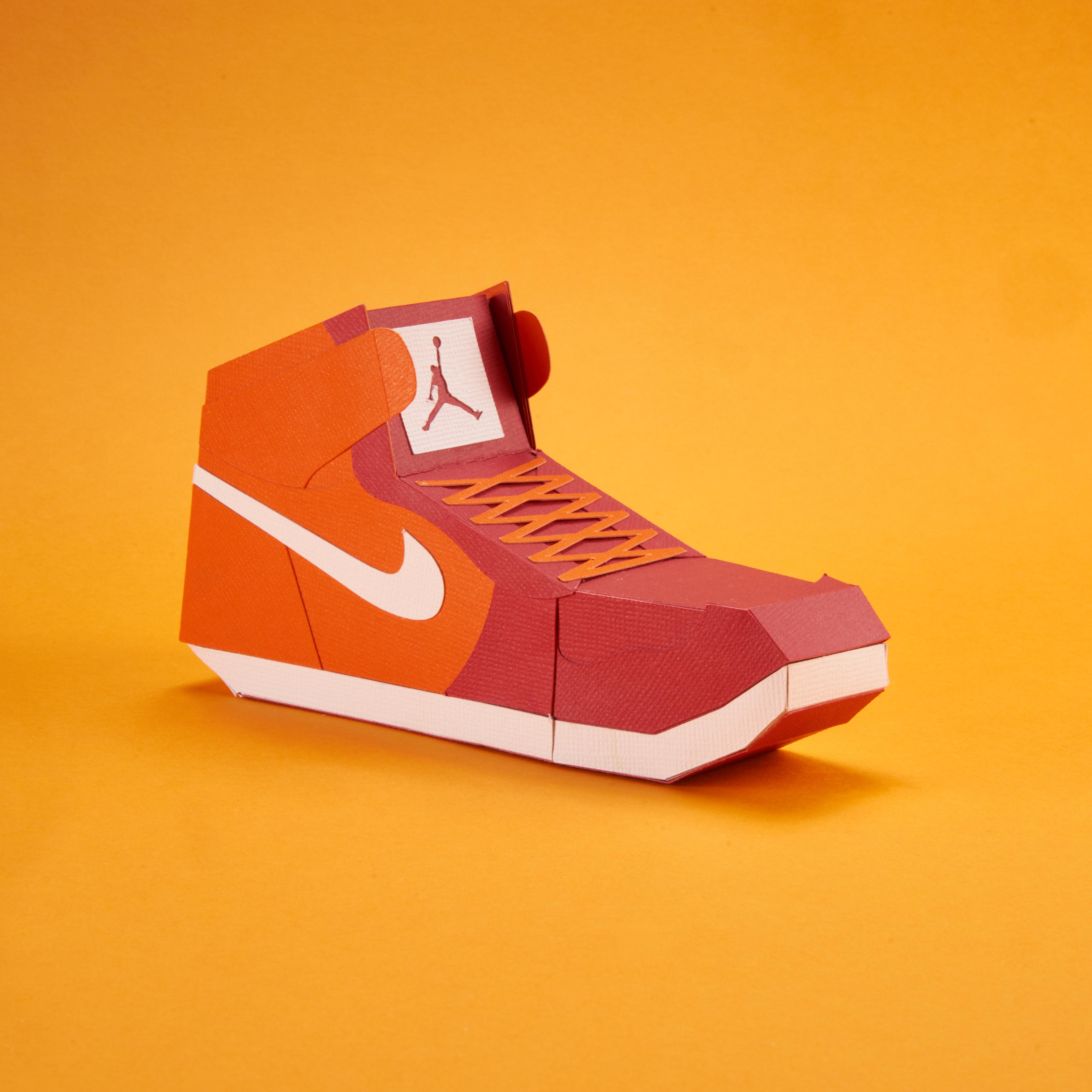 Paper Sneaker AJ1 23
