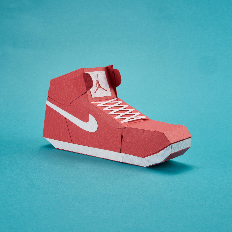 Paper Sneaker AJ1 99