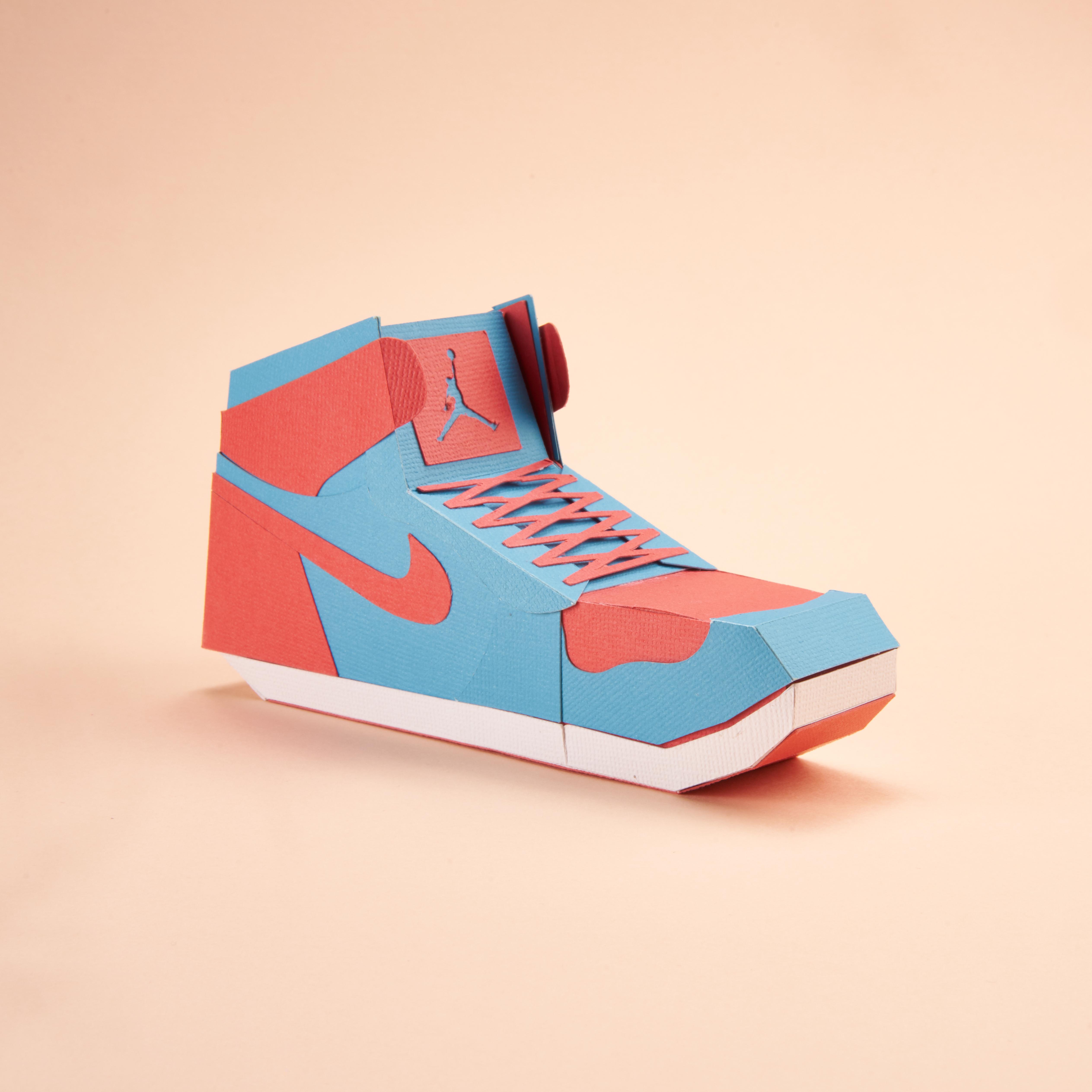Paper Sneaker AJ1 92