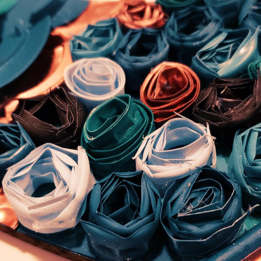 Natalie Wong Artist recycled art
