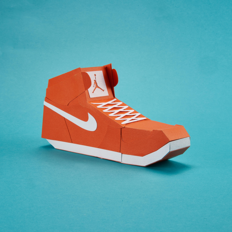 Paper Sneaker AJ1 29