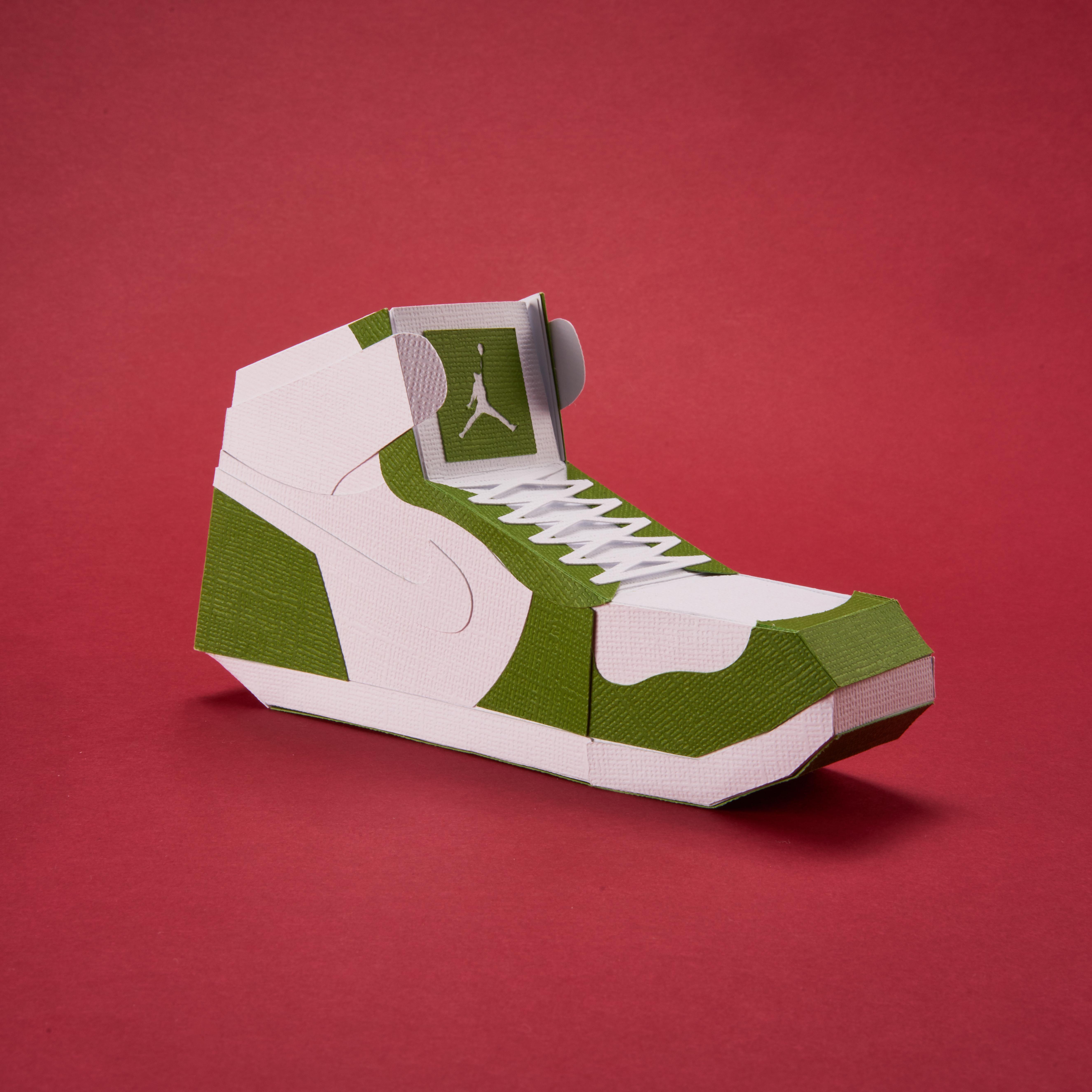 Paper Sneaker AJ1 36