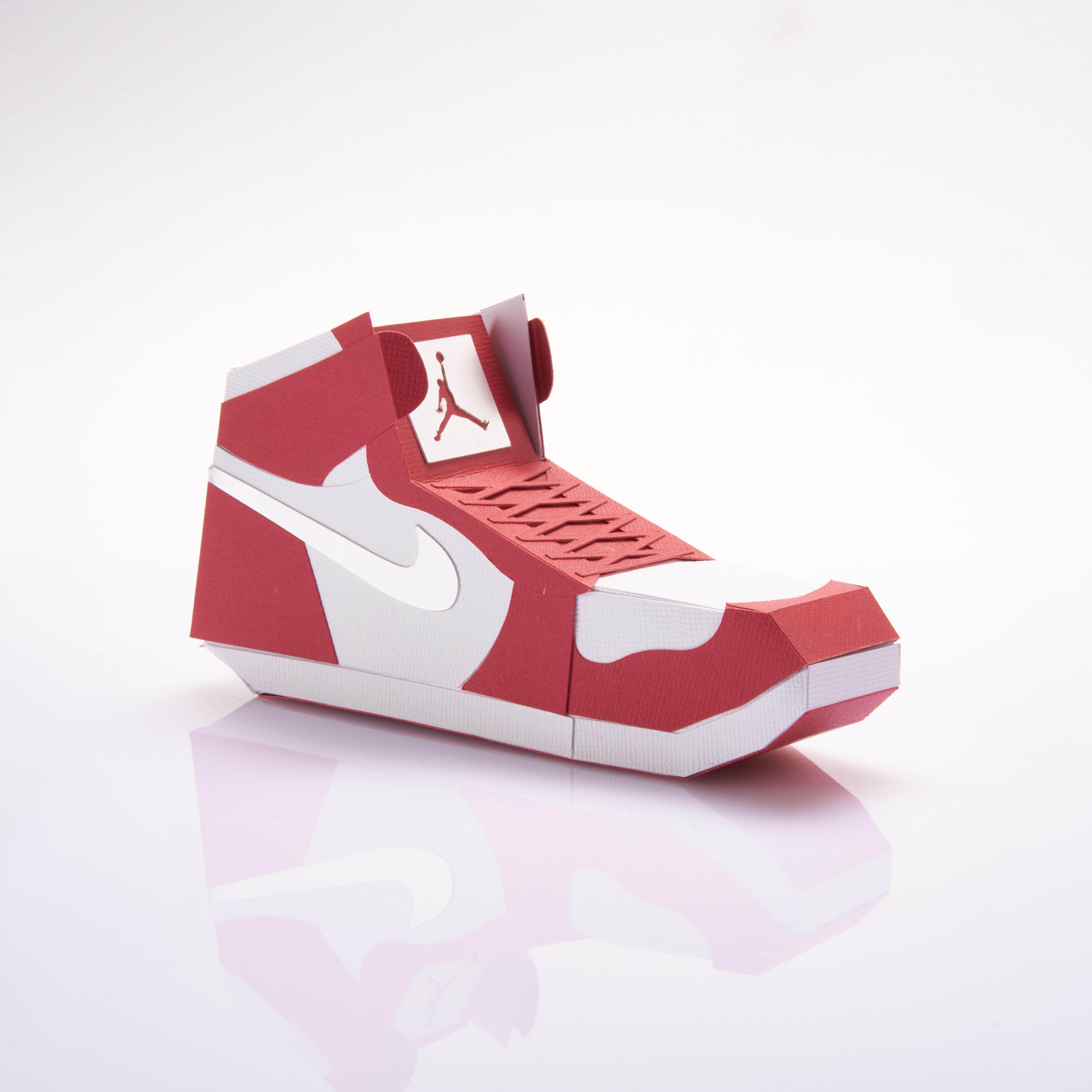 Paper Sneaker AJ1 62