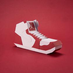 Paper Sneaker AJ1 33