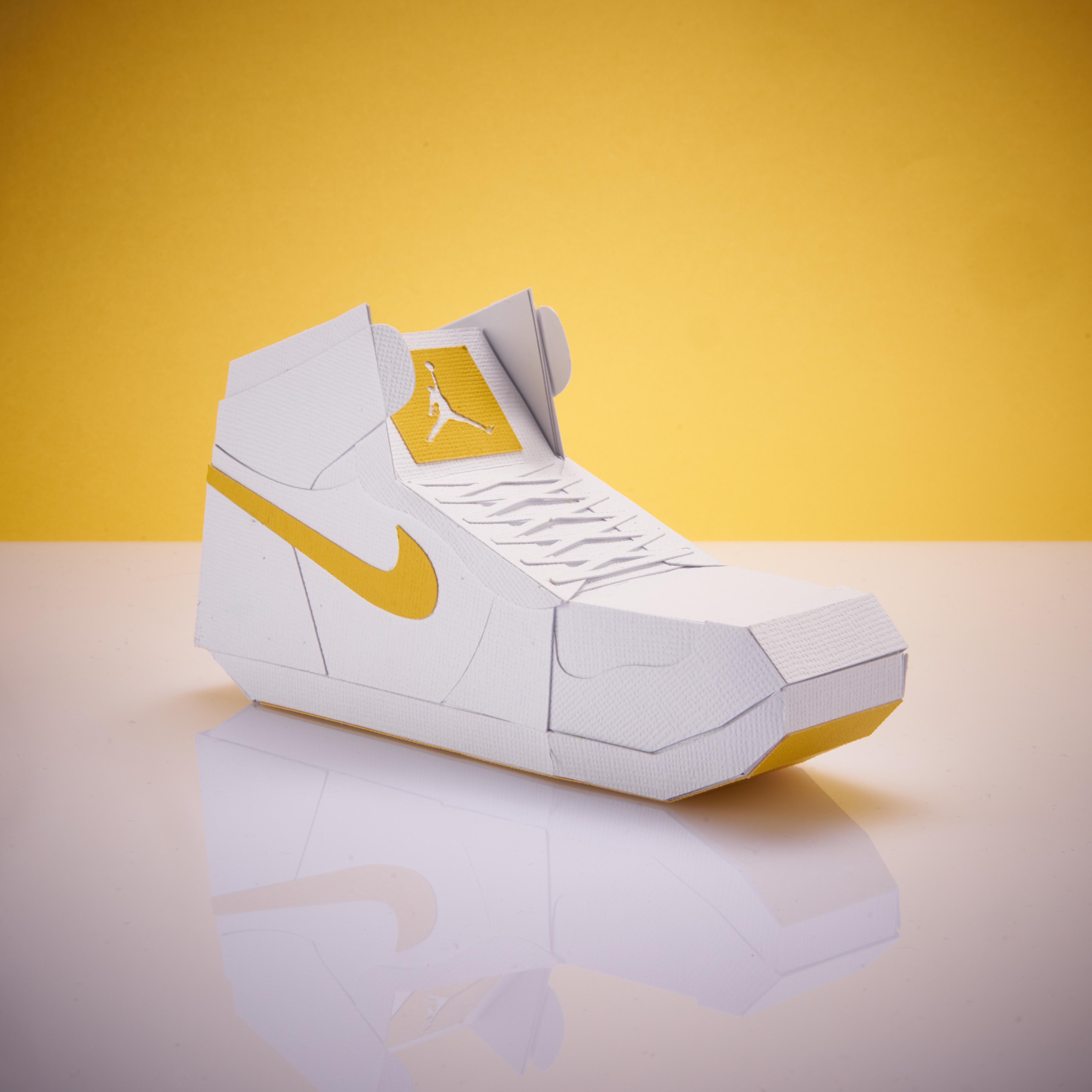 Paper Sneaker AJ1 86