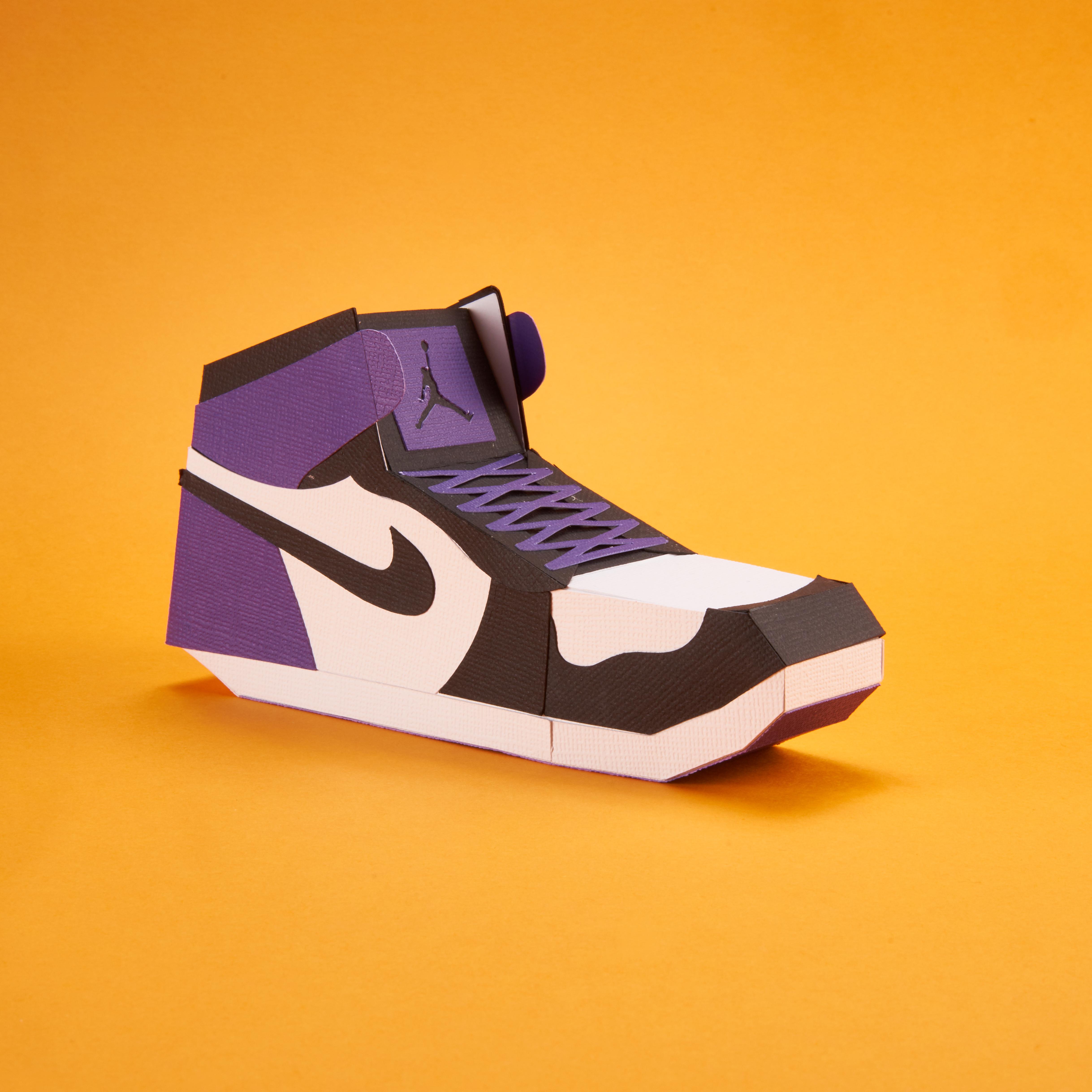 Paper Sneaker AJ1 78