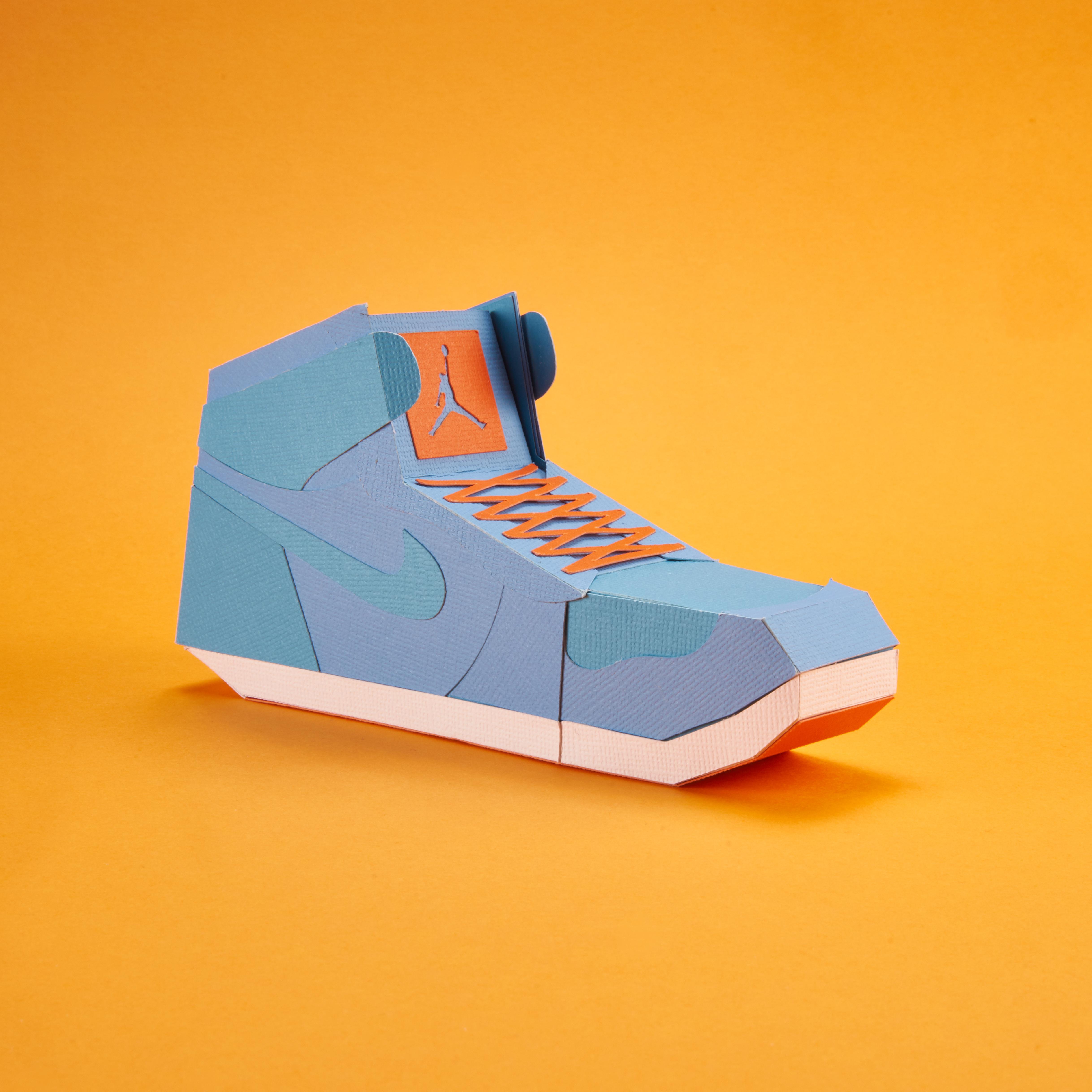 Paper Sneaker AJ1 25