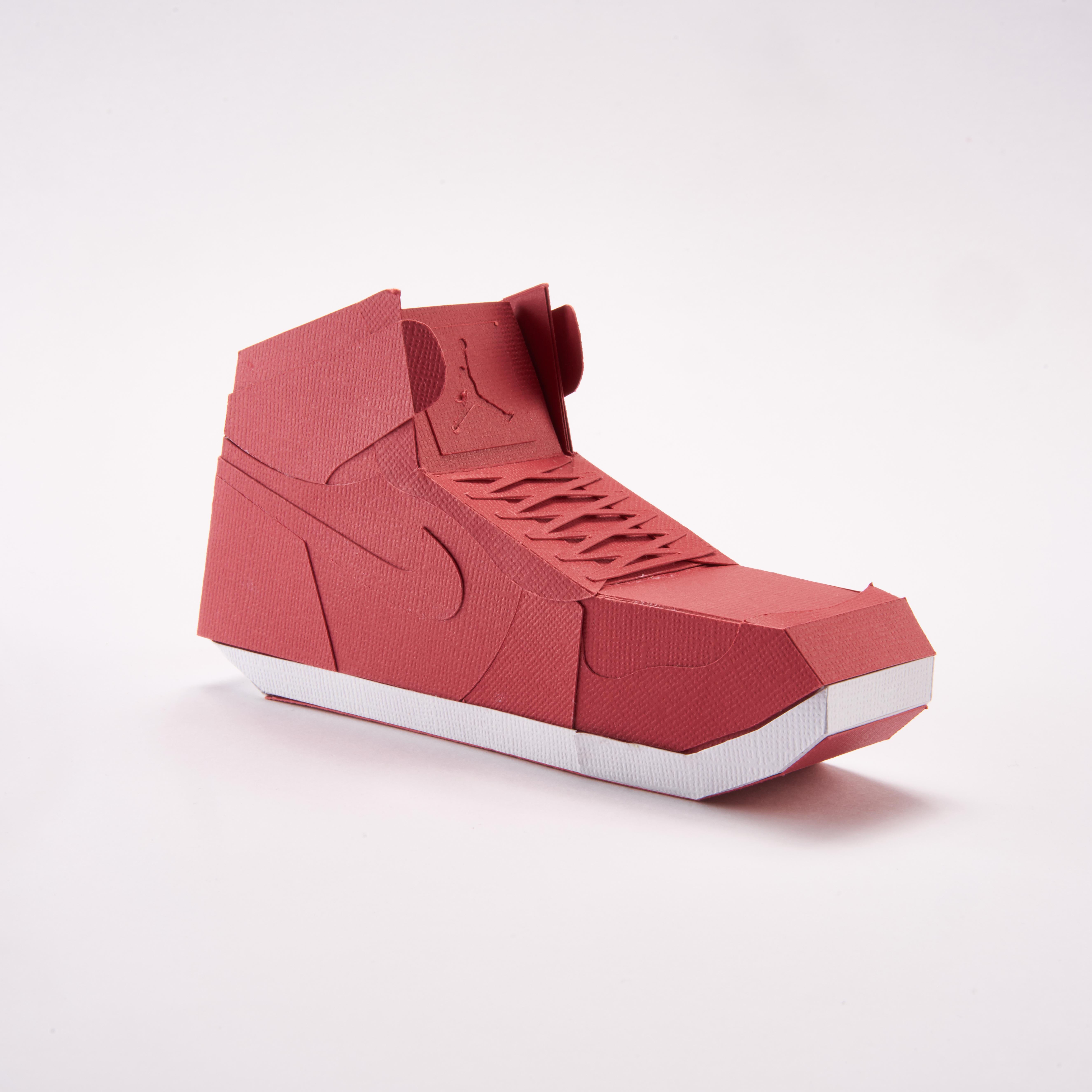 Paper Sneaker AJ1 43