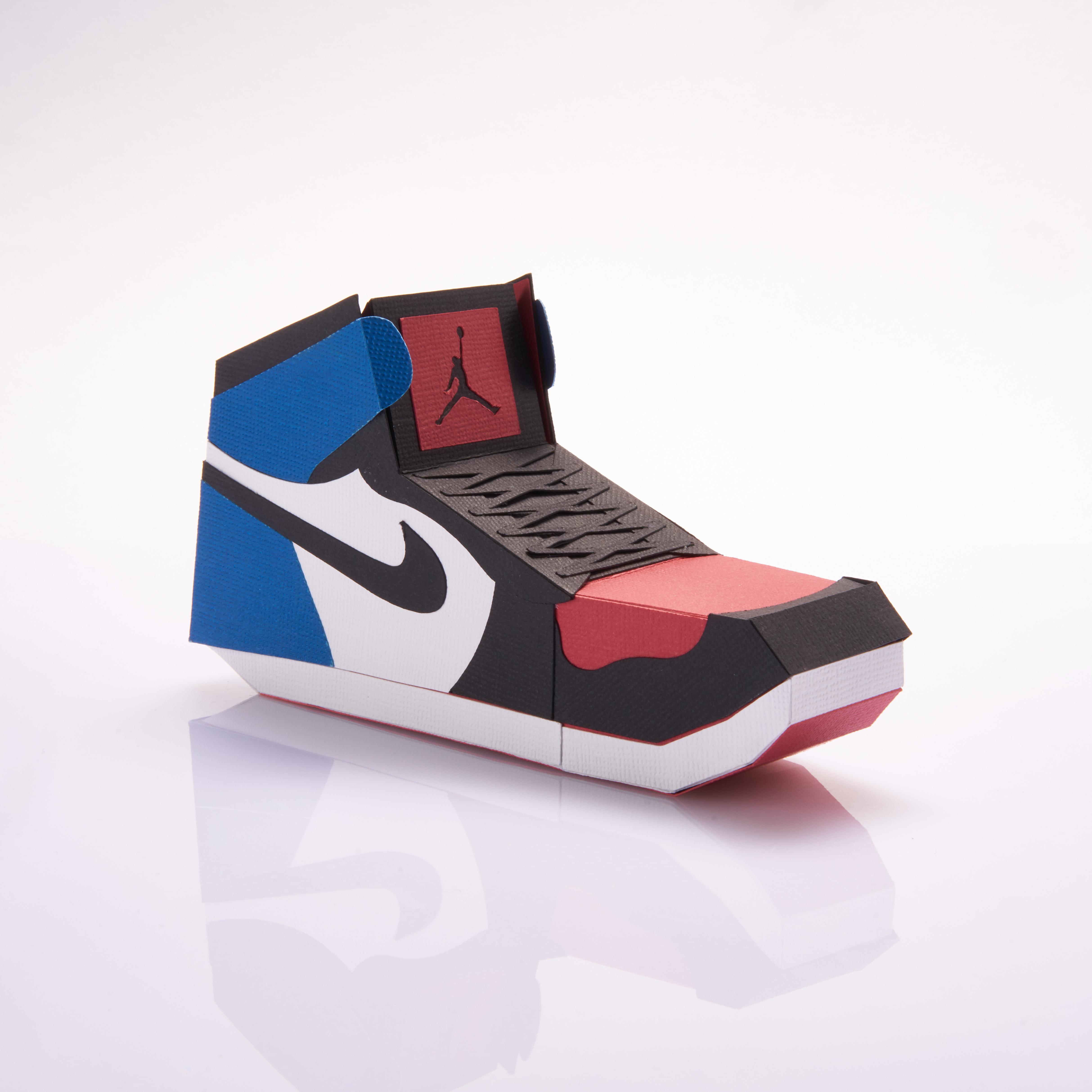 Paper Sneaker AJ1 53
