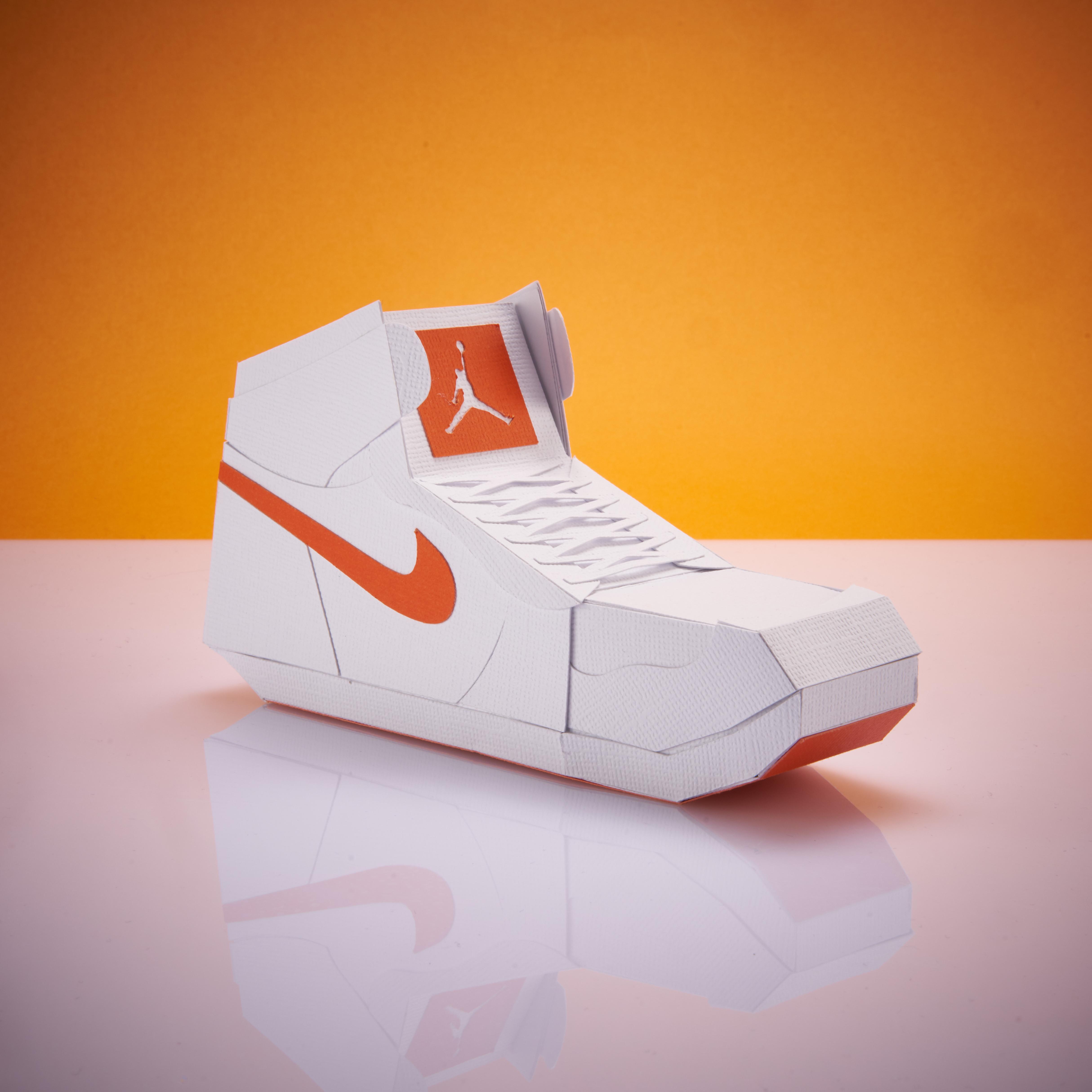 Paper Sneaker AJ1 84