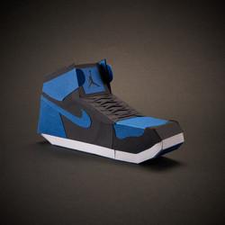 Paper Sneaker AJ1 3