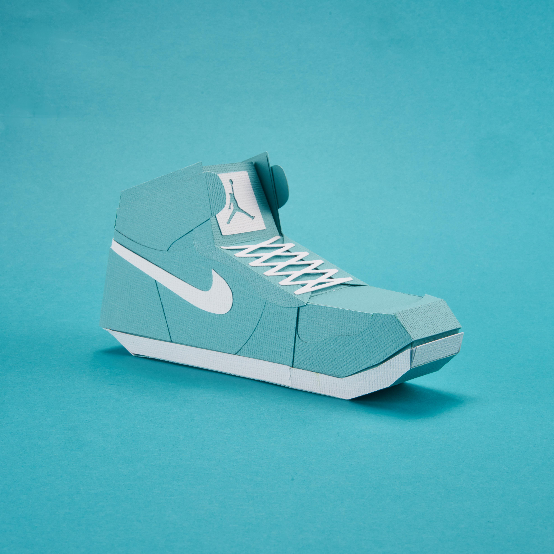 Paper Sneaker AJ1 96