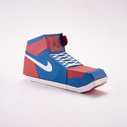 Paper Sneaker AJ1 63