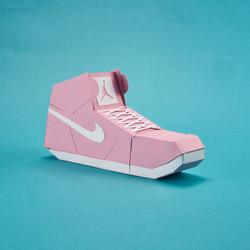 Paper Sneaker AJ1 28