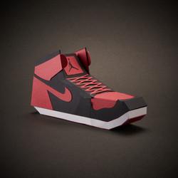 Paper Sneaker AJ1 1