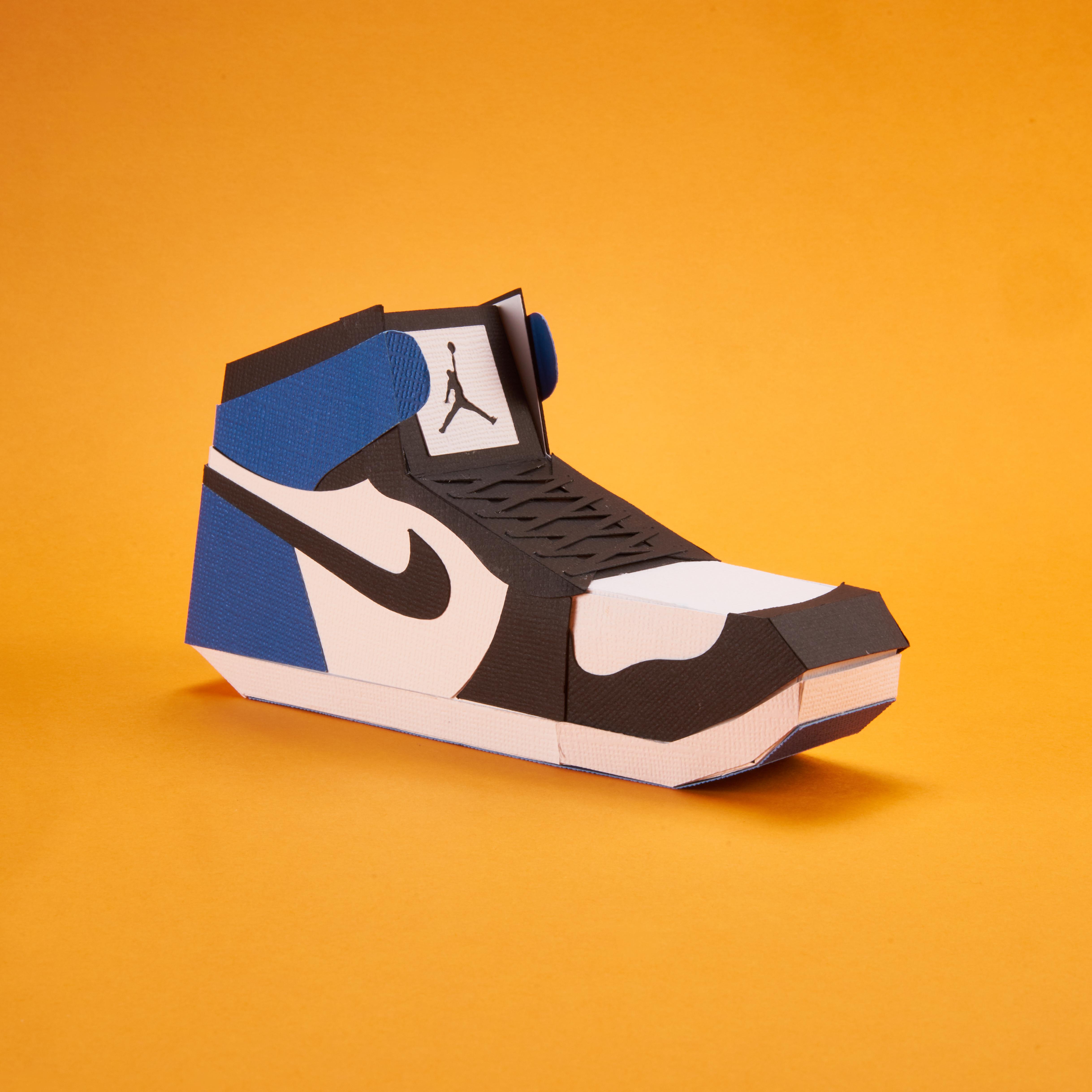 Paper Sneaker AJ1 75