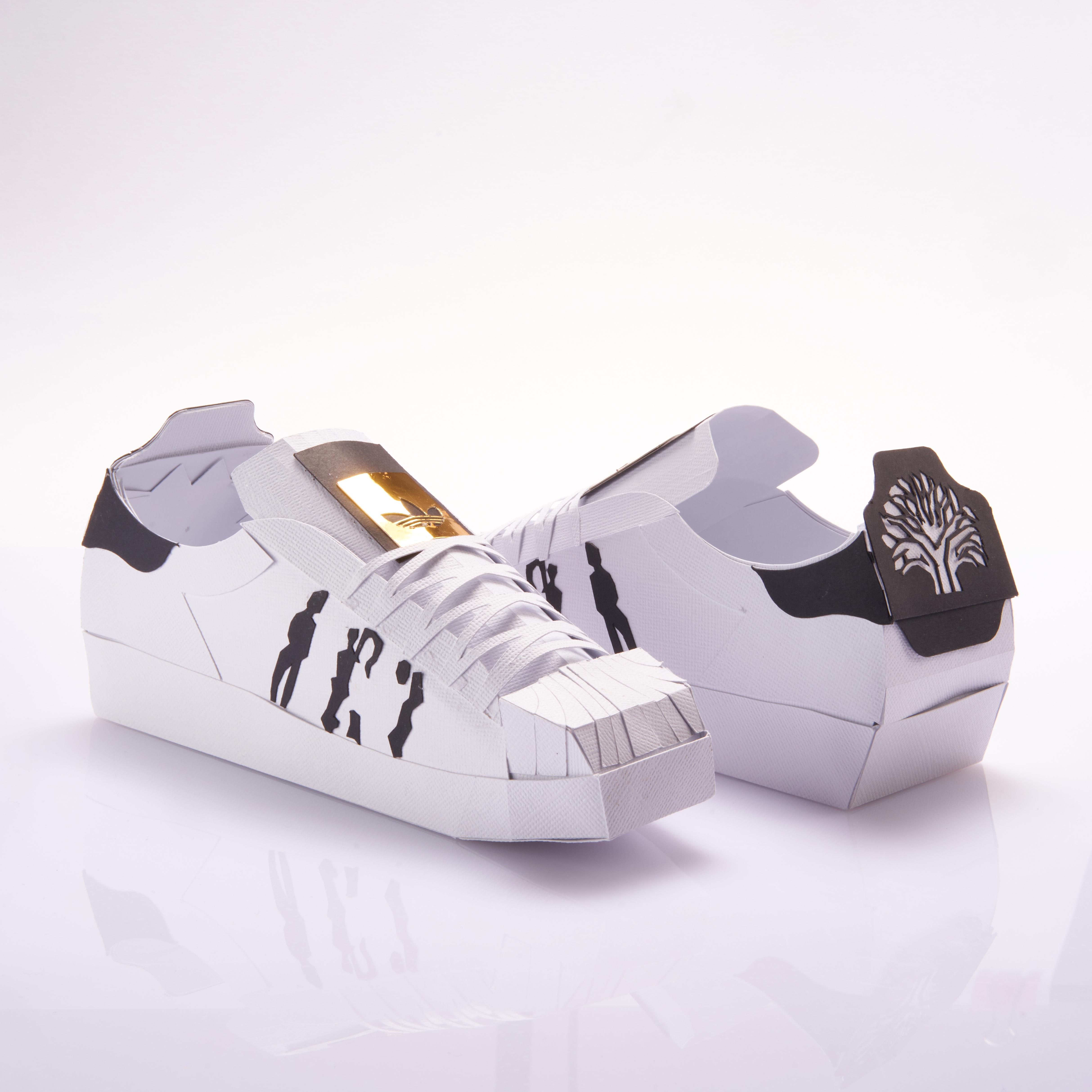 Paper Sneaker adidas Superstar