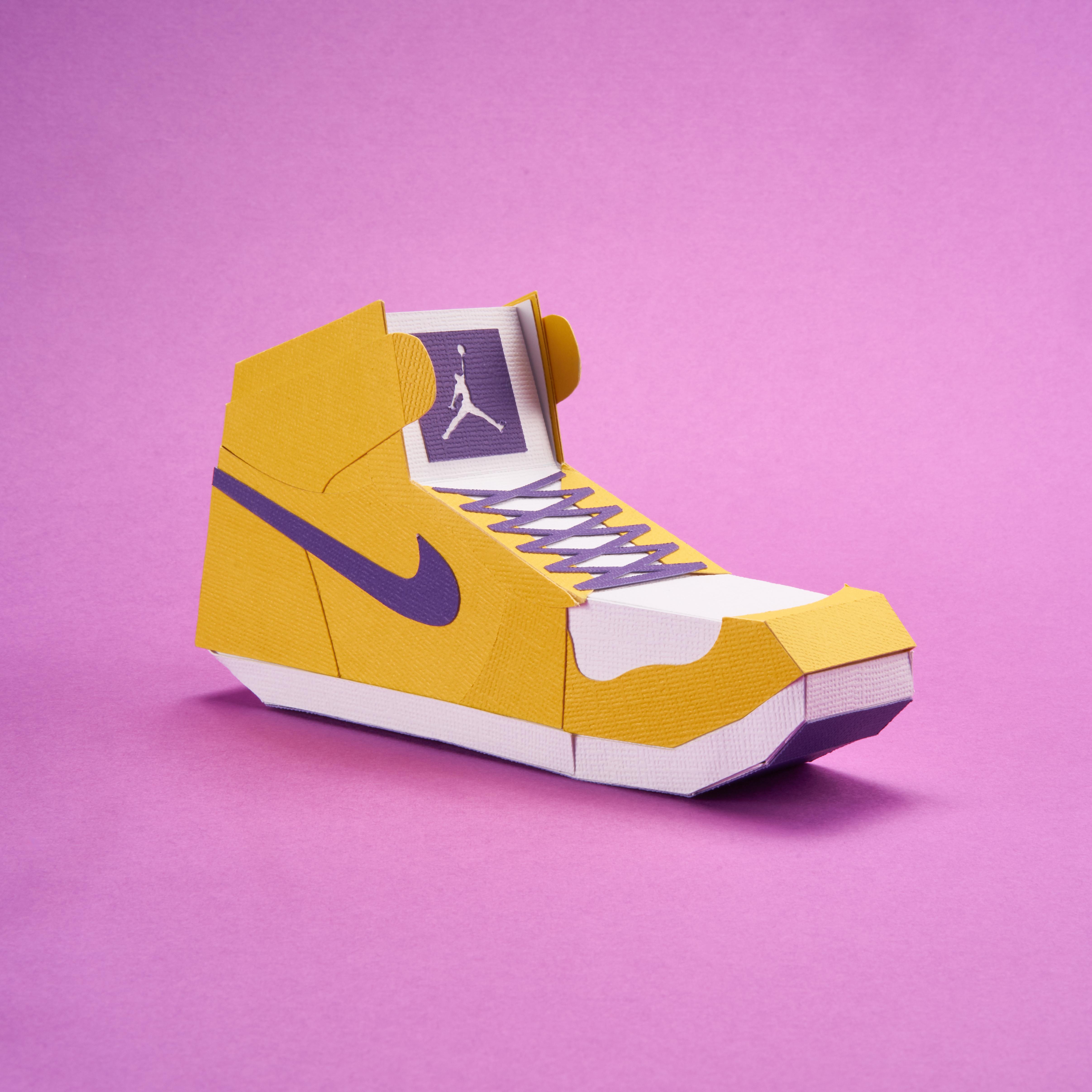Paper Sneaker AJ1 12